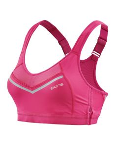 Skins DNAmic High Impact Womens Sports Bra (pink)
