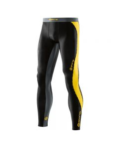Skins DNAmic Men's Long Tights (black/citron)