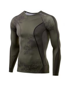 Skins DNAmic Men's Top Long Sleeve (specter utility)