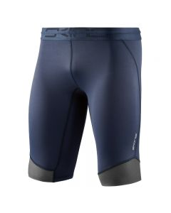 Skins DNAmic CORE Mens long 1/2 Tight (navy blue)