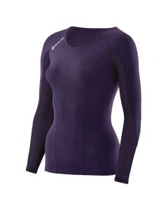 Skins DNAmic Women's Top Long Sleeve (blackberry)