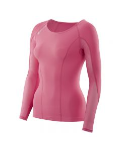 Skins DNAmic Women's Top Long Sleeve (flamingo)