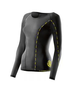 Skins DNAmic Women's Top Long Sleeve (black)
