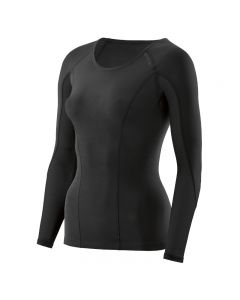 Skins DNAmic Women's Top Long Sleeve (black/black)