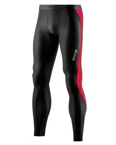 Skins DNAmic ACE Mens Long Tight (black/red)