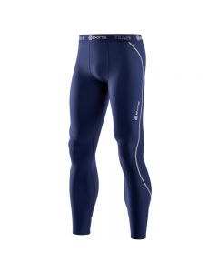 Skins DNAmic TEAM Thermal Men's Long Tight (navy blue)