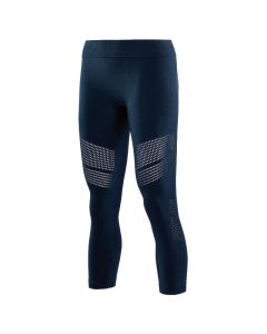 Skins DNAmic Seamless Square Womens 7/8 Tights (harbour)