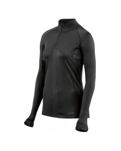 Skins DNAmic Ultimate Womens Long Sleeve Top 1/2 Zip (black)