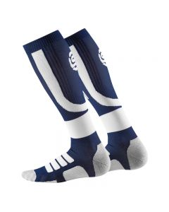 Skins Essentials Men's Active Compression Socks (navy blue/white)