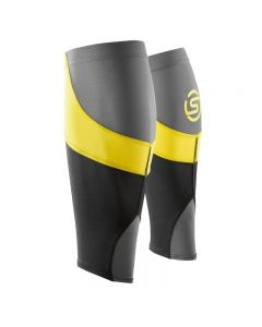 Skins Essentials Calf Tights MX (black/citron)