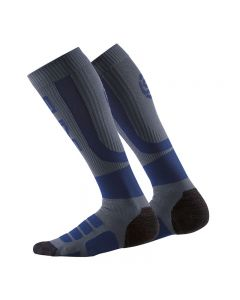 Skins Essentials Womens Performance Compression Socks (navy/charcoal)