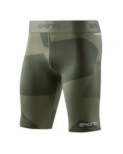 Skins DNAmic PRIMARY Mens 1/2 Tight (deconstructed camo utility)