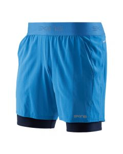 Skins DNAmic PRIMARY Mens Superpose 1/2 Tight (bright blue/navy)