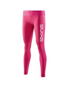 Skins DNAmic PRIMARY Womens Long Tight (pink logo)