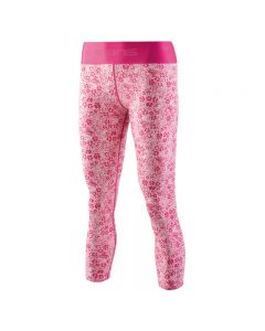 Skins DNAmic Primary Womens 7/8 Tights Skyscraper (petit floral pink)