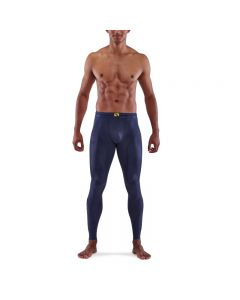 Skins Mens 5-Series Long Tights (navy blue)