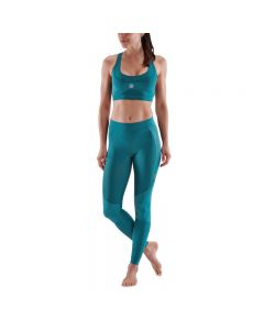 Skins Womens 5-Series Long Tights (teal)