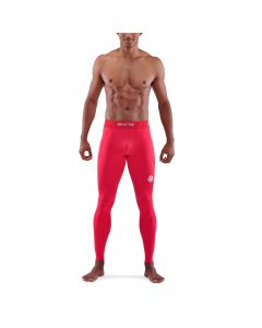 Skins Mens 1-Series Long Tights (red)