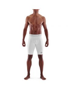 Skins Mens 1-Series Half Tights (white)