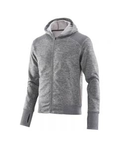 Skins Activewear Signal Tech Fleece Hoodie (pewter/marle)