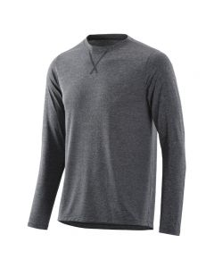 Skins Activewear Fitness Avatar Long Sleeve Tee (black/marle)