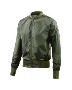 Skins Activewear Orsa Mens Bomber Run Jacket (deconstructed camo utility)