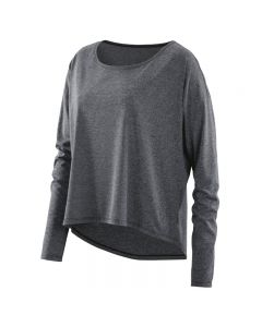 Skins Activewear W Pixel Long Sleeve Tee (black/marle)