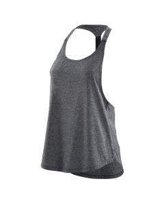 Skins Activewear W Remote T Bar Tank (black/marle)
