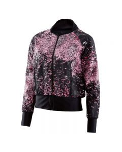 Skins Activewear W Running Interlect Bomber Jacket (stardust flamingo)