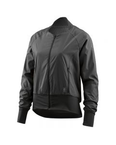 Skins Activewear Women's Running Interlect Bomber Jacket (black)
