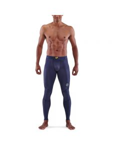 Skins Mens 3-Series Long Tights (navy blue)