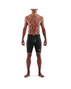 Skins Mens 3-Series Half Tights (black)