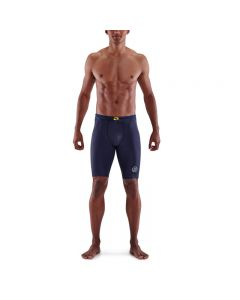 Skins Mens 3-Series Half Tights (navy blue)
