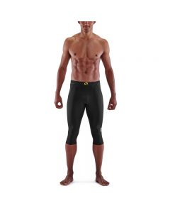 Skins Mens 3-Series Thermal 3/4 Tight (black)