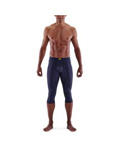 Skins Mens 3-Series Thermal 3/4 Tight (navy blue)