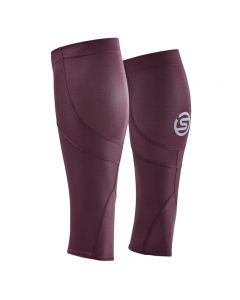 Skins Unisex 3-Series MX Calf Sleeve (burgundy)