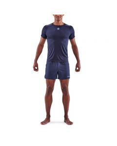 Skins Mens 3-Series Short Sleeve Top (navy blue)