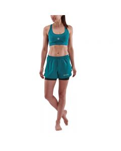 Skins Womens 3-Series X-Fit Shorts (teal)