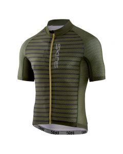 Skins Cycle Men's Love Cats X-Light Short Sleeve Jersey (utility stripe/black)