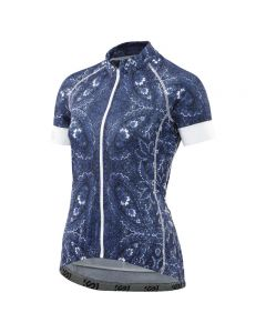 Skins Cycle Classic Womens S/S Jersey Full Zip (kasbah)
